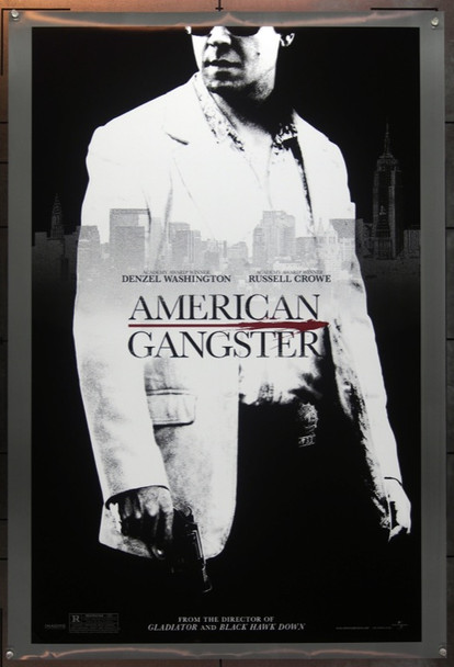 AMERICAN GANGSTER (2007) 20699 Original Universal Pictures Style B Advance One Sheet Poster (27x41).  Double-Sided.  Rolled.  Very Fine.