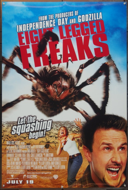 EIGHT LEGGED FREAKS (2002) 20665 Original Warner Brothers One Sheet Poster (27x41).  Double-Sided.  Rolled.  Very Fine.
