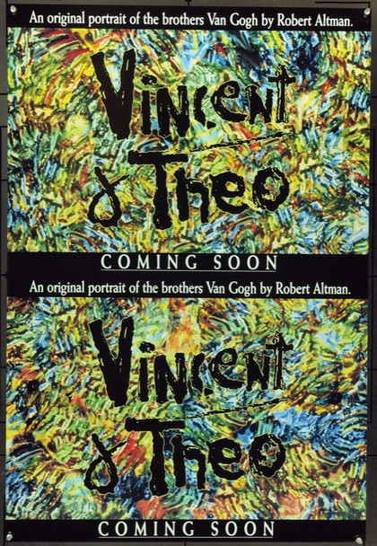 VINCENT AND THEO (1990) 4597 Original Hemdale Film Advance One Sheet Poster (27x41).  Rolled.  Very Fine.
