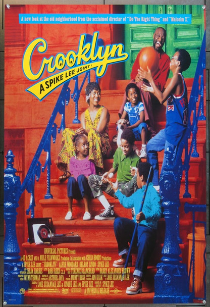 CROOKLYN (1994) 5851 Original Universal Pictures One Sheet Poster (27x41).  Double-Sided.  Unfolded.  Very Fine.