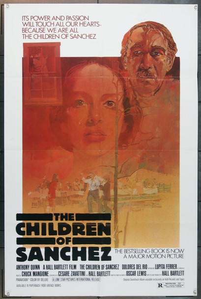 CHILDREN OF SANCHEZ, THE (1978) 11758 Original Lone Star Pictures International One Sheet Poster (27x41).  Folded.  Fine Plus.