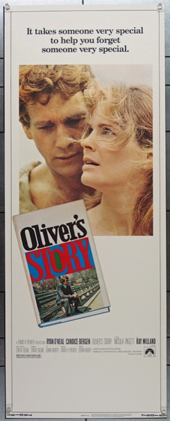 OLIVER'S STORY (1978) 12372 Paramount Pictures Insert Poster    14x36   Very Fine Condition