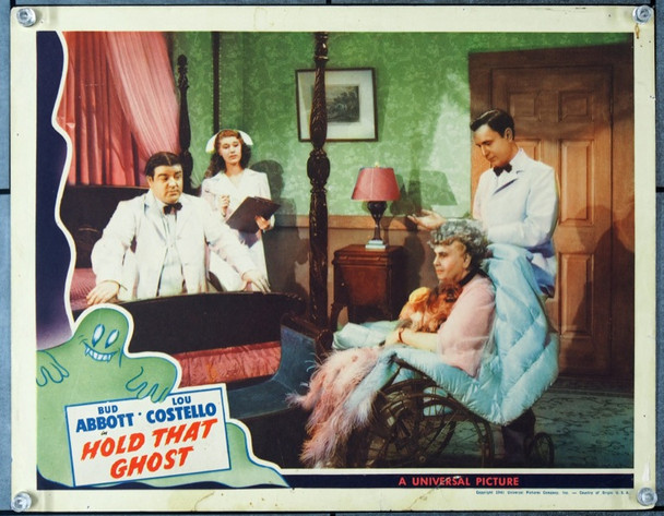 HOLD THAT GHOST (1941) 24030 Original Universal Pictures Scene Lobby Card (11x14).  Very Good Condition.