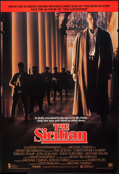 SICILIAN, THE (1987) 69 20th Century Fox One Sheet Poster   27x41   Rolled   Very Fine