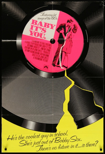 BABY IT'S YOU (1983) 24787 Original Paramount One Sheet Poster (27x41) for International Distribution.  Folded.  Very Fine.