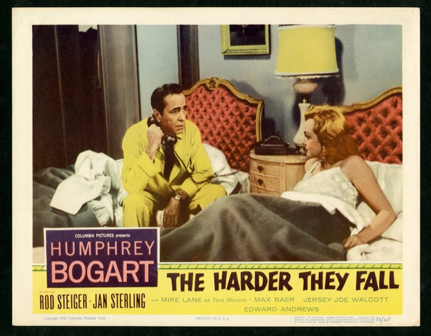 HARDER THEY FALL, THE (1956) 2566 Columbia PIctures Original Scene Lobby Card    11x14   Very Fine