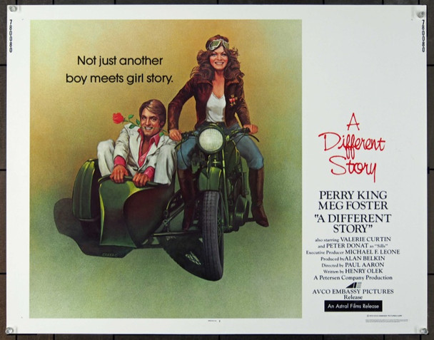 DIFFERENT STORY, A (1978) 24836 Original Avco Embassy half sheet poster   22x28  Rolled   Very Fine Condition