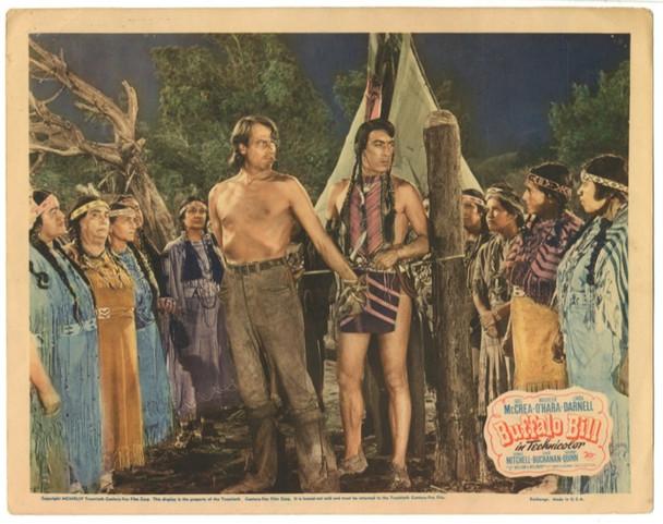BUFFALO BILL (1944) 24822 Original 20th Century Fox lobby scene card    11x14   Very Fine