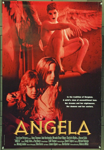 ANGELA (1995) 21984 Original Tree Farm Productions One Sheet Poster (27x41).  Rolled.  Very Fine Condition.