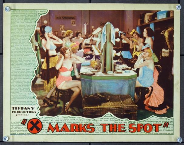 X MARKS THE SPOT (1931) 24481 Tiffany Production Scene Lobby Card   11x14  Very Fine Condition