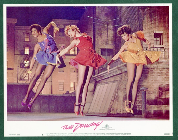 THAT'S DANCING! (1985) 24848 MGM Original Scene Lobby Card    11x14  Fine Plus