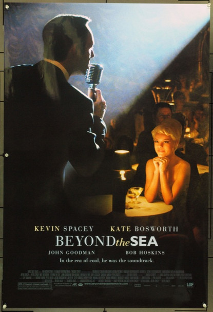 BEYOND THE SEA (2004) 16191 Original Lion's Gate One Sheet Poster (27x41).  Mylar Coating.  Unfolded.  Very Fine.