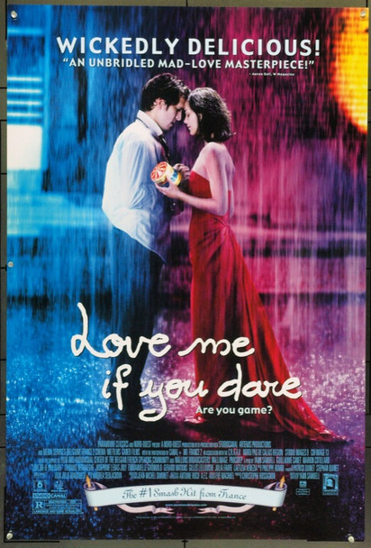 LOVE ME IF YOU DARE (2003) 22000 Original Paramount Pictures One Sheet Poster (27x41).  Unfolded.  Very Fine.