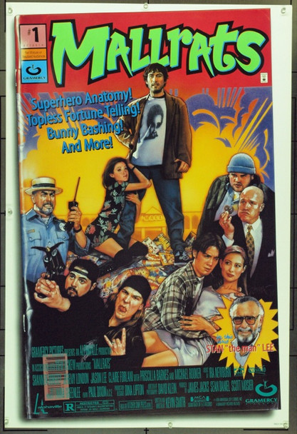 MALLRATS (1995) &16133 Original Gramercy Pictures One Sheet Poster (27x41).  Unfolded.  Very Fine.