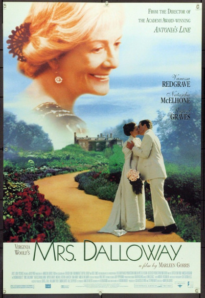 MRS DALLOWAY (1997) 16157 Original First Look International One Sheet Poster (27x41).  Unfolded.  Very Fine.