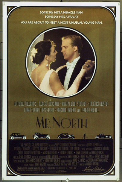 MR. NORTH (1988) 22003 Original Samuel Goldwyn Company One Sheet Poster (27x41).  Unfolded.  Fine Plus Condition.