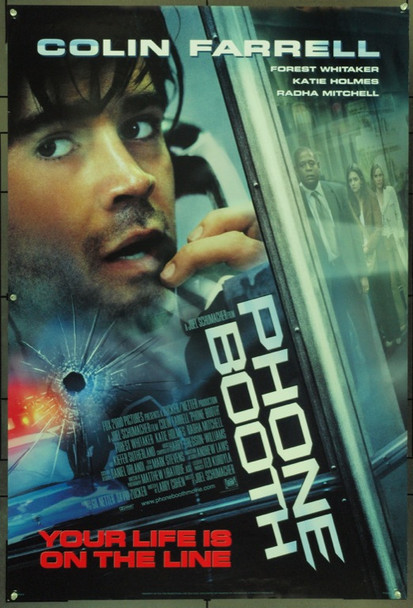 PHONE BOOTH (2002) 16598 Original 20th Century-Fox B Style One Sheet Poster (27x41).  Double-Sided.  Unfolded.  Very Fine.