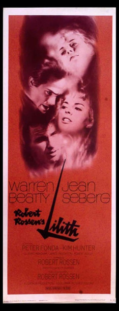 LILITH (1964) 13844 Original Columbia Pictures Insert Poster (14x36).  Rolled.  Very Fine Plus to Near Mint.