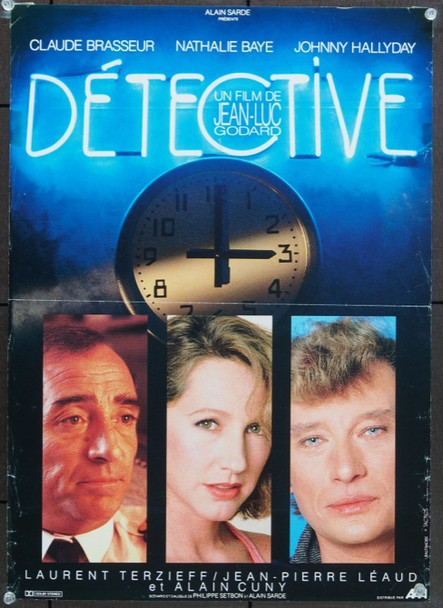 DETECTIVE (1985) 5272 Original Small French Poster (15x21).  Folded.  Very Good