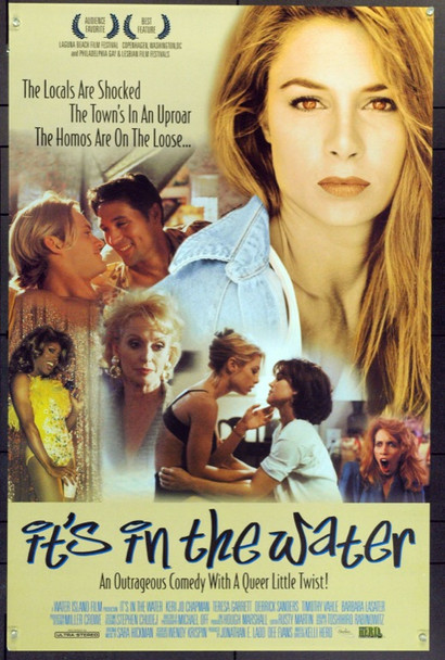 IT'S IN THE WATER (1997) 21995 Original Kelli Herd Film Company One Sheet Poster (27x41).  Unfolded.  Very Fine.