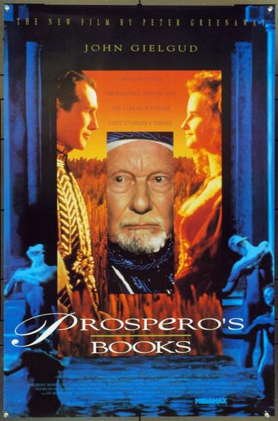 PROSPERO'S BOOKS (1991) 22011 Original Miramax Films One Sheet Poster (27x41).  Unfolded.  Very Fine.