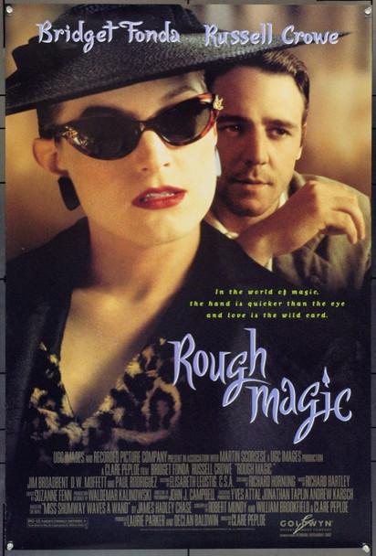 ROUGH MAGIC (1995) 22016 Original Goldwyn Films One Sheet Poster (27x41).  Double-Sided.  Unfolded.  Very Fine.