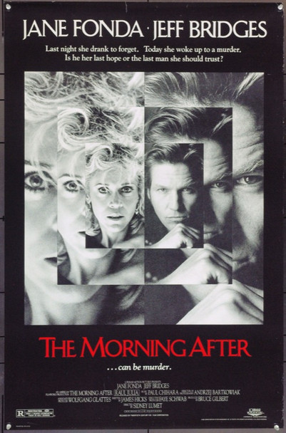 MORNING AFTER, THE (1986) 22002 Original 20th Century-Fox One Sheet Poster (27x41).  Unfolded.  Fine Condition.