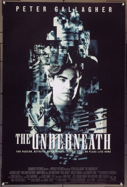 THE UNDERNEATH (1995 ) 22028 Original Gramercy Pictures One Sheet Poster (27x41).  Double-Sided.  Unfolded.  Very Fine.