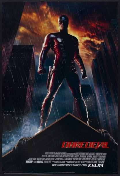 DAREDEVIL (2003) 20702 Original 20th Century-Fox Style A One Sheet Poster (27x40). Double-sided. Unfolded. Very Fine Plus.
