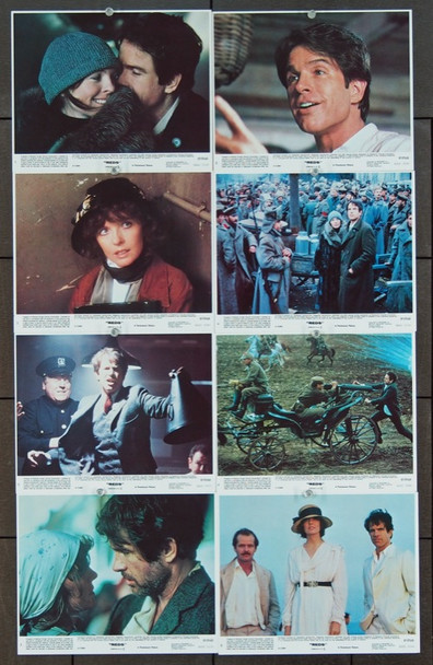 REDS (1981) 8415 Paramount Original 8x10 color lithograph stills    Very Fine Condition.