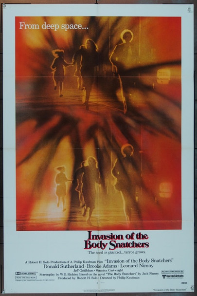 INVASION OF THE BODY SNATCHERS (1978) 5664 Original United Artists One Sheet Poster (27x41).  Folded.  Very Fine.