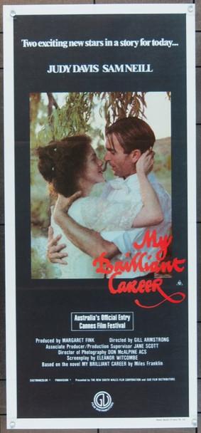 MY BRILLIANT CAREER (1979) 4928 Original Australian Daybill (14x30).  Folded.  Very Fine Condition.