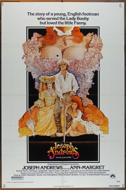 JOSEPH ANDREWS (1977) 5069 Original Paramount One Sheet Poster   27x41  Folded  Very Fine