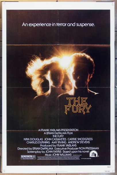 FURY, THE (1978) 5082 20th Century Fox One Sheet Poster   27x41  Folded
