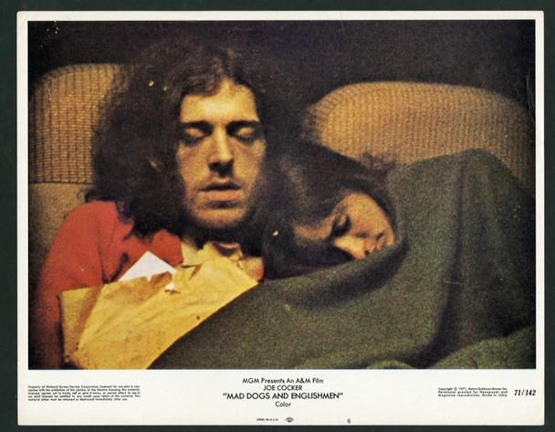 MAD DOGS & ENGLISHMEN (1971) 9513 Original MGM Scene Lobby Card (11x14).  Very Fine Condition.