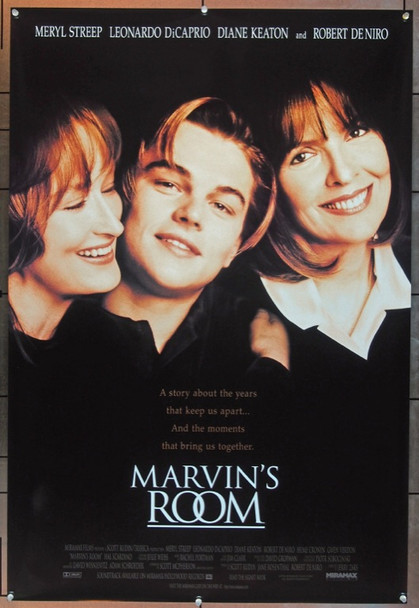 MARVIN'S ROOM (1997) 7317 Miramax Original One Sheet Poster   27x41  Rolled  Very Fine Plus