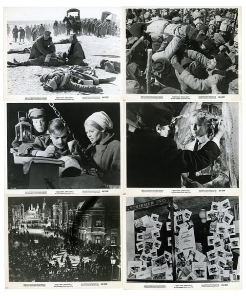 DOCTOR ZHIVAGO (1964) 25383 Eight Gelatin Silver Prints   (8x10)  First Release  Very Fine Condition