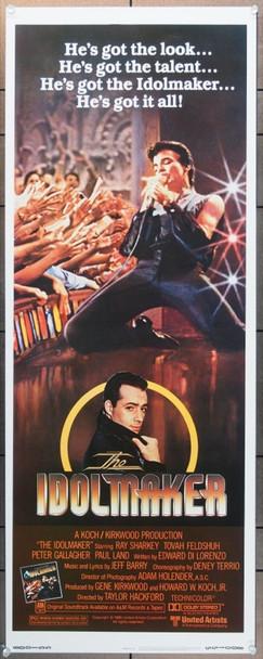 IDOLMAKER, THE (1980) 1057 United Artists Original Insert Card Poster   14x36  Very Fine