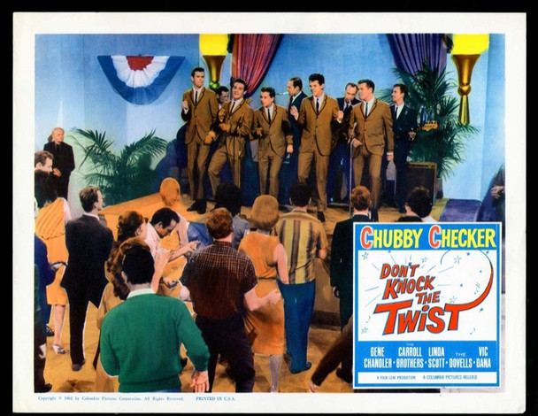 DON'T KNOCK THE TWIST (1962) 19452 Original Columbia Pictures Scene Lobby Card (11x14).