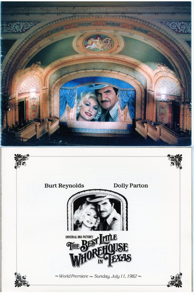 BEST LITTLE WHOREHOUSE IN TEXAS, THE (1982) 8228 Original Universal Pictures Premiere Program   9x11  Fine Condition