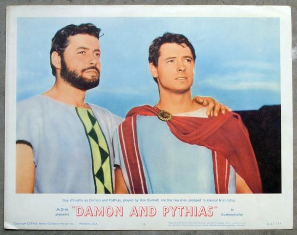 DAMON AND PYTHIAS (1962) 18435 MGM Original Scene Lobby Card (11x14).    Very Fine.