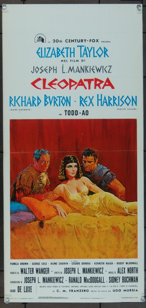 CLEOPATRA (1963) 13594 Original Italian Locandina (14x27).  Folded.  Fine Plus To Very Fine Condition.