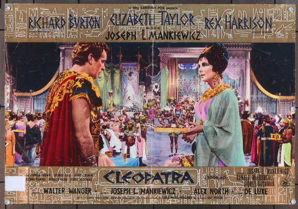 CLEOPATRA (1963) 6329 Original 20th Century-Fox Italian Fotobusta (18x26).   Folded.   Fine Plus Condition