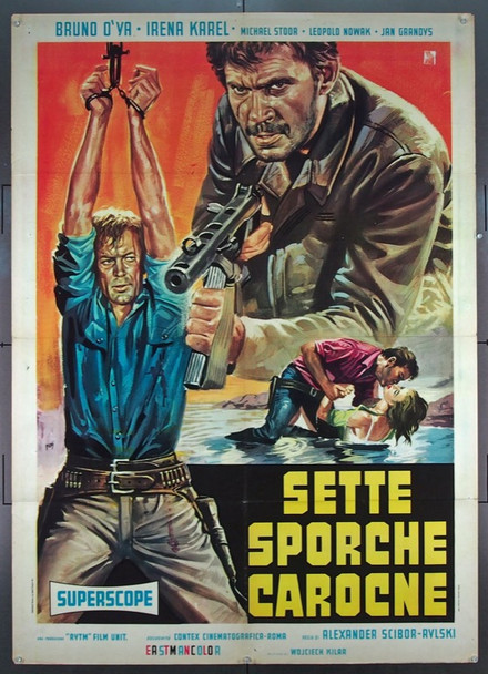 WOLVES' ECHOES (1968) 25572 Original Italian Two Foglio Poster   39x55  Fine Plus Condition  Folded