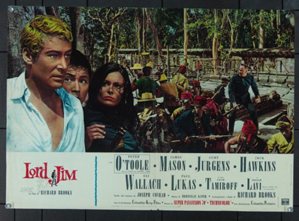 LORD JIM (1965) 11876 Original Italian Photobusta (18x26).  Folded.  Very Good Condition.