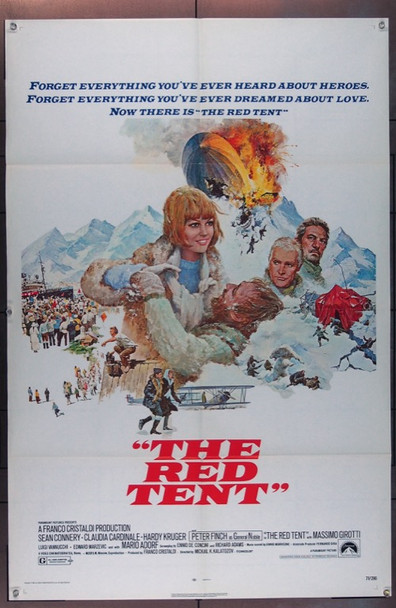 RED TENT, THE (1969) 11787 Original Paramount One Sheet Poster  27x41  Folded  Very Fine