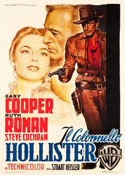 DALLAS (1950) 25623 Warner Brothers Original Italian Two Foglio Poster   39x55   Linen backed  Fine to Very Fine Condition  Art by Luigi Martinati