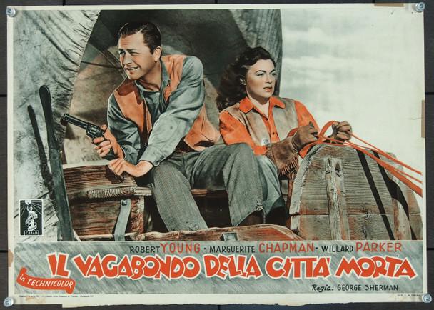 RELENTLESS (1948) 25411 Original Italian Complete Fotobusta Set (13x19).  12 individual scenes.  Very Good Condition.