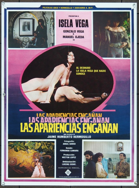 APARIENCIAS ENGANAN, LAS  (1983) 11868 Original Peliculas Abco Mexican Poster (19x24).  Folded.  Very Fine Condition.
