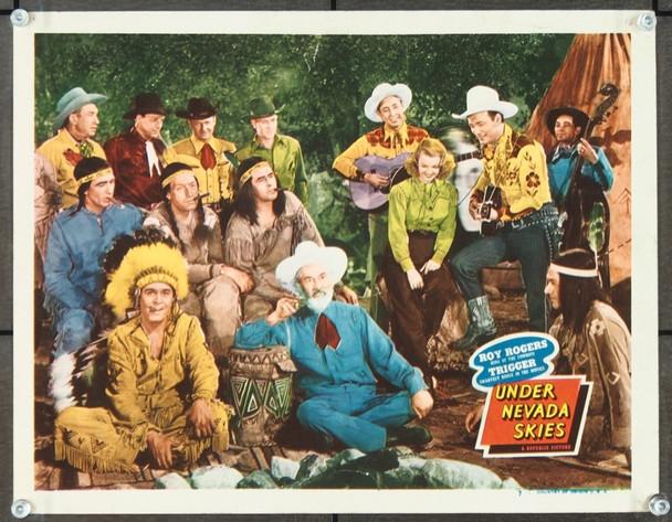 UNDER NEVADA SKIES (1946) 25717 Republic Pictures Original Scene Lobby Card (11x14).  Very Good Plus Condition